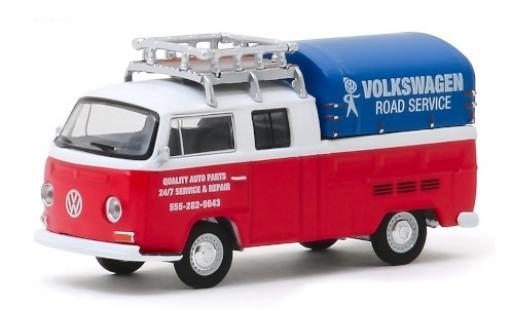 Volkswagen T2 1/64 Greenlight DoKa Road Service 1976 miniature