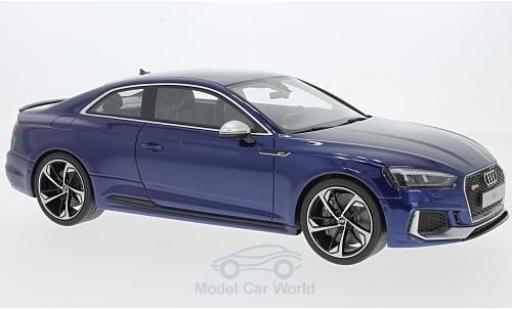 Audi RS5 1/18 GT Spirit RS 5 metallise blue 2017 diecast model cars