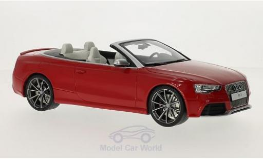 Audi RS5 1/18 GT Spirit Cabriolet rouge miniature