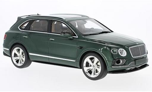 Bentley Bentayga 1/18 GT Spirit Sport Package metallise verte miniature