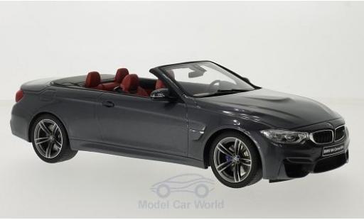 Bmw M4 F83 1/18 GT Spirit BMW (F83) Cabriolet metallic-grise miniature