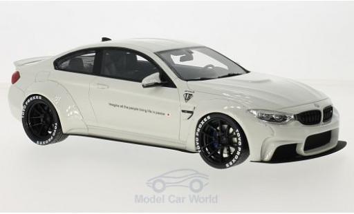 Bmw M4 1/18 GT Spirit BMW LB blanche miniature