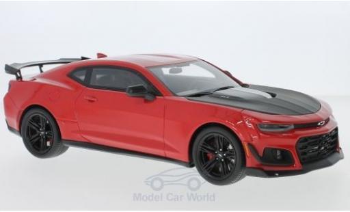 Chevrolet Camaro ZL1 1/18 GT Spirit 1LE rosso/nero 2017 miniatura
