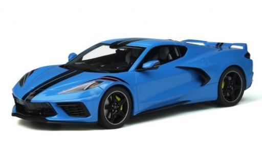 Chevrolet Corvette 1/18 GT Spirit (C8) blue/black 2020 diecast model cars