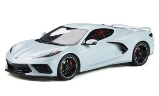 Chevrolet Corvette 1/18 GT Spirit (C8) metallise grey 2020 diecast model cars