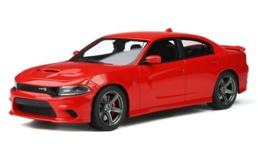 Dodge Charger 1/18 GT Spirit SRT Hellcat rouge 2020 miniature