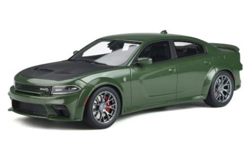 Dodge Charger 1/18 GT Spirit SRT Hellcat Widebody green 2020 diecast model cars