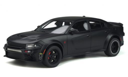 Dodge Charger 1/18 GT Spirit SRT Hellcat Widebody Tuned by Speedkore matt-black 2020 diecast model cars