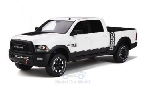 Dodge RAM 1/18 GT Spirit 2500 Power Wagon white 2017 diecast model cars