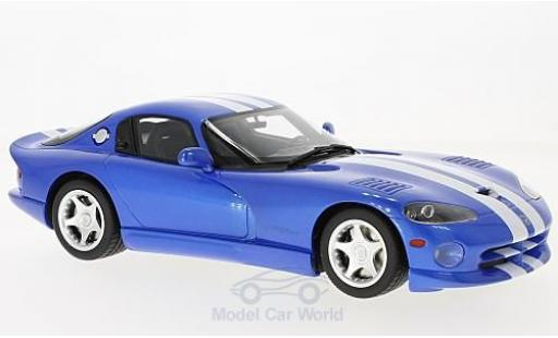 Dodge Viper GTS 1/18 GT Spirit GTS blue/white 1996 diecast