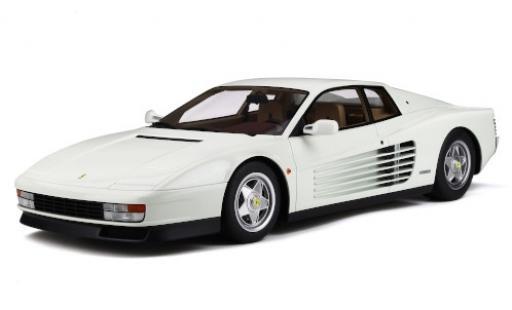 Ferrari Testarossa 1/12 GT Spirit blanche miniature