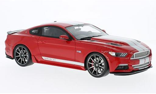 Ford Mustang 1/18 GT Spirit Shelby GT rouge/grise