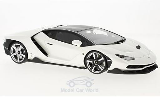 Lamborghini Centenario 1/18 GT Spirit mettalic weiss 2016 modellautos