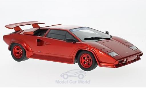 Lamborghini Countach 1/18 GT Spirit Koenig Specials métallisé rouge 1983 miniature