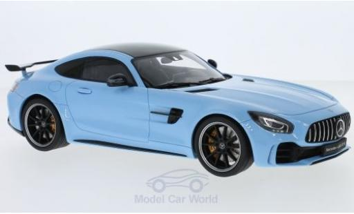 Mercedes AMG GT 1/18 GT Spirit -R blue 2017 diecast model cars