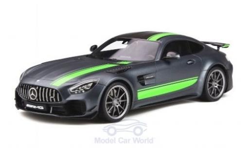 Mercedes AMG GT 1/18 GT Spirit -R Pro matt-grise/verte 2019 miniature