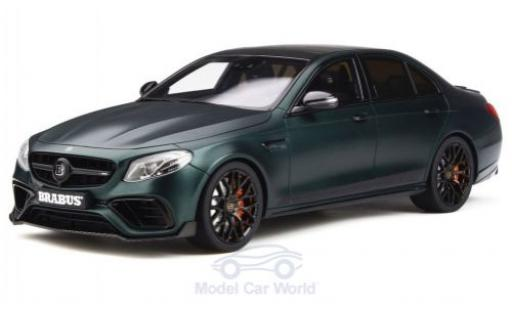 Mercedes Classe E 1/18 GT Spirit Brabus 800 matt-verte 2019 Basis E 63 miniature