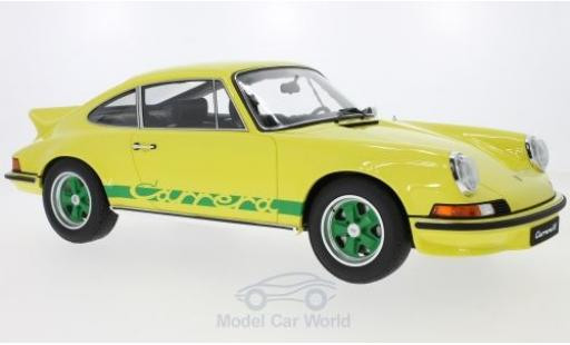 Porsche 911 SC 1/12 GT Spirit 2.7 RS Touring yellow diecast model cars