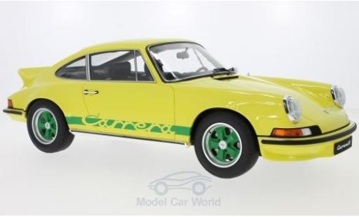 Porsche 911 SC 1/12 GT Spirit 2.7 RS Touring jaune miniature
