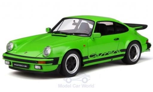 Porsche 911 1/18 GT Spirit 3.2 Carrera verte miniature