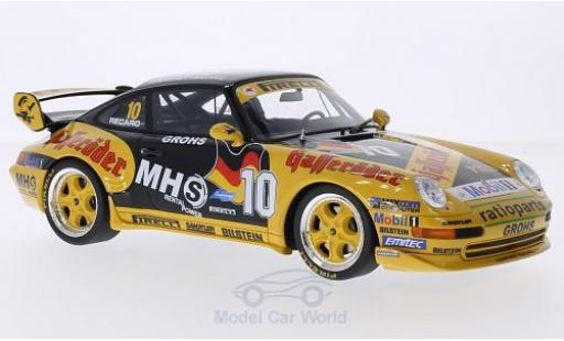 Porsche 993 SC 1/18 GT Spirit (993) Supercup No.10 Manthey Racing Hasseröder Supercup H.Grohs miniature