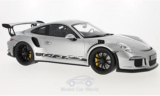 Porsche 991 GT3 RS 1/12 GT Spirit 911 grey 2015 diecast model cars
