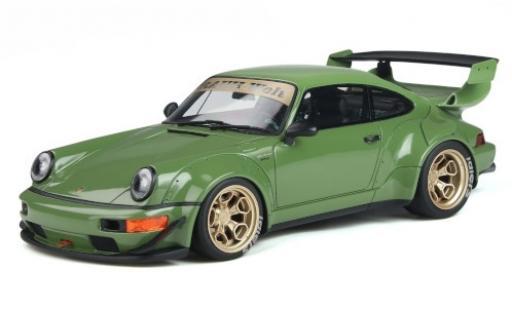 Porsche 911 1/18 GT Spirit RWB Body Kit green diecast model cars