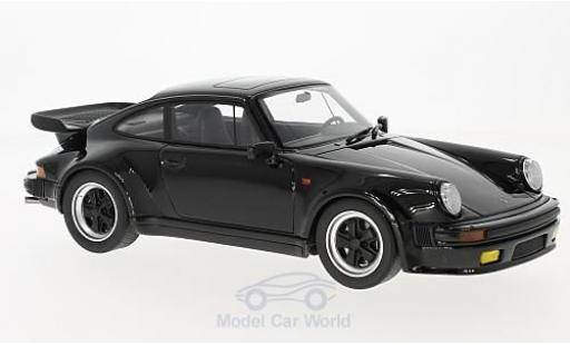 Porsche 911 Turbo 1/18 GT Spirit Turbo S noire miniature