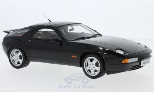 Porsche 928 1/18 GT Spirit GTS noire miniature