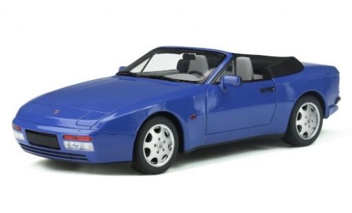 Porsche 944 1/18 GT Spirit Turbo Carbriolet S2 bleue 1989