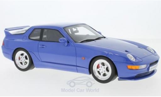 Porsche 968 1/18 GT Spirit Turbo S bleue miniature