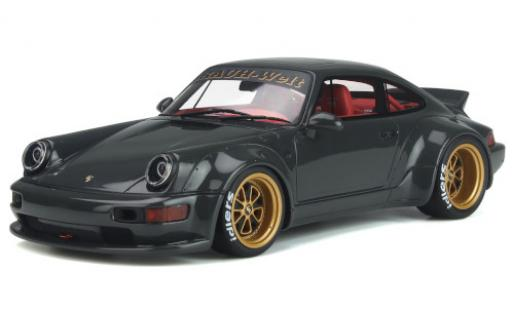 Porsche 964 RWB 1/18 GT Spirit Bourgogne Body Kit grise Basis: 911  miniature