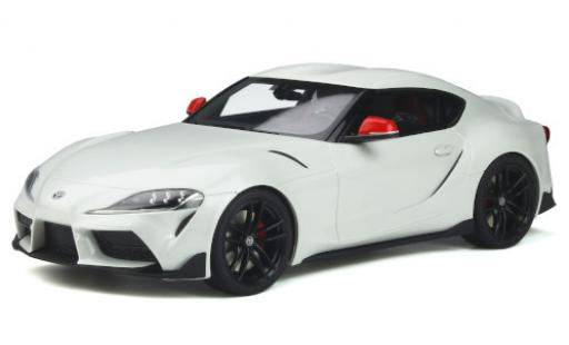 Toyota Supra 1/18 GT Spirit GR Fuji Speedway Edition white 2020 diecast model cars