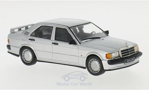 Mercedes 190 E 1/43 GTI Collection 2.3 16V grey 1988 diecast model cars