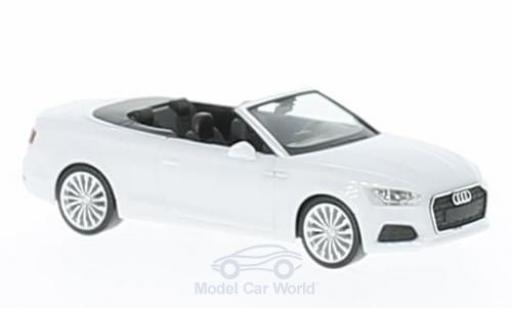 Audi A5 1/87 Herpa Cabrio blanche miniature