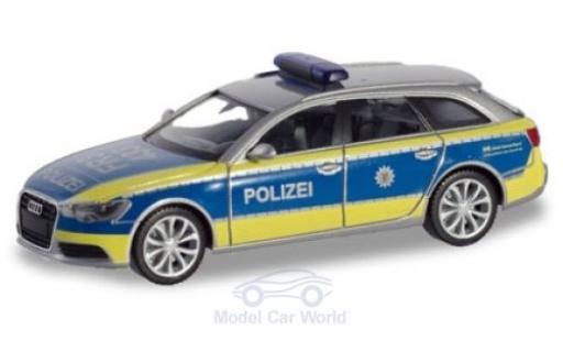 Audi A6 1/87 Herpa Avant Polizei Baden-Württemberg miniature