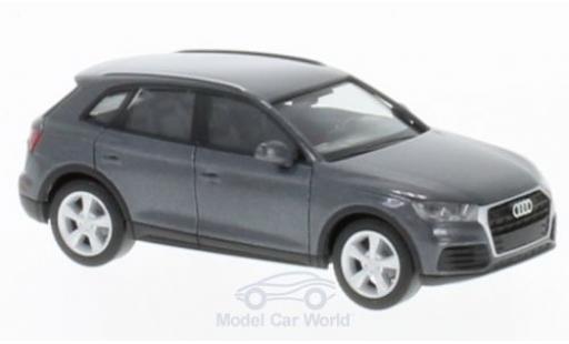 Audi Q5 1/87 Herpa métallisé grise miniature