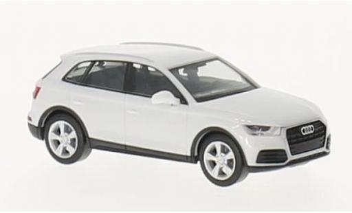 Audi Q5 1/87 Herpa blanche miniature