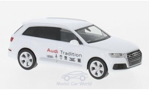 Audi Q7 1/87 Herpa Mobile Tradition modellino in miniatura