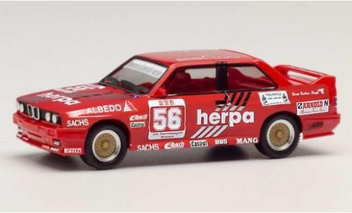 Bmw M3 1/87 Herpa (E30) No.56 Herpa Motorsport Herpa DTM 1989 G.Müller miniature