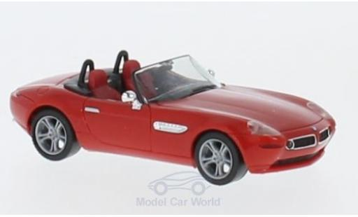 Bmw Z8 1/87 Herpa rouge miniature