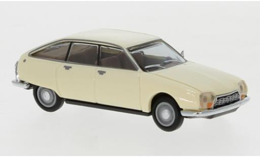 Citroen GS 1/87 Herpa beige miniature