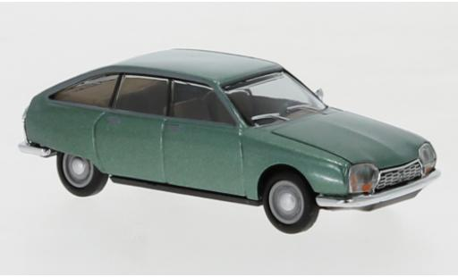 Citroen GS 1/87 Herpa metallise verte miniature