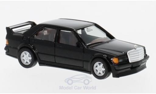 Mercedes 190 E 1/87 Herpa 25 16V noire miniature