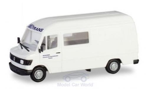 Mercedes 207 1/87 Herpa D Hochdach Halbbus Deutrans miniature