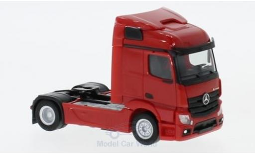 Mercedes Actros 1/87 Herpa Streamspace 2.3 rouge 2018 2-achs Zugmaschine miniature
