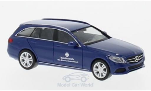 Mercedes Classe C 1/87 Herpa T-Modell Bundeswehr diecast model cars