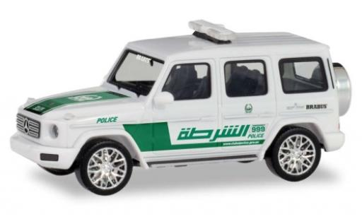 Mercedes Classe G 1/87 Herpa Dubai Police miniature