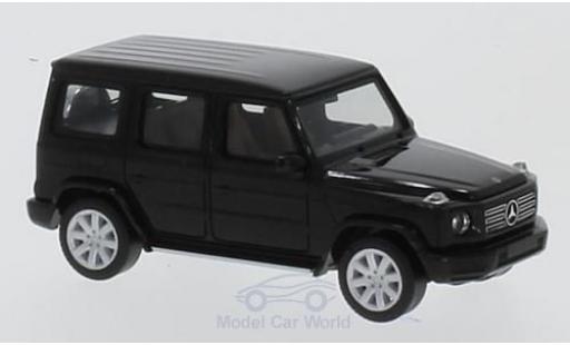 Mercedes Classe G 1/87 Herpa G-Modell metallise noire miniature