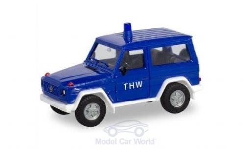 Mercedes Classe G 1/87 Herpa G-Modell THW miniature
